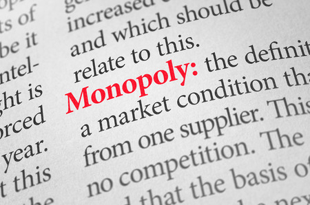 51353404 - definition of the word monopoly in a dictionary