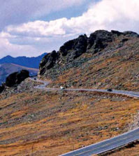Trail Ridge Road is over 12,000 feet. Photo The Voice Archives.