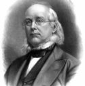 Painting of Horace Greeley by an unknown artist.