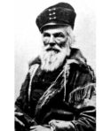 A mountain man in the late 1800s. Photo National Archives.