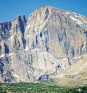 Part of Longs Peak. Bill Lambdin photo.
