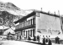 The Hotel de Paris in Georgetown. Photo Colorado Historical Society
